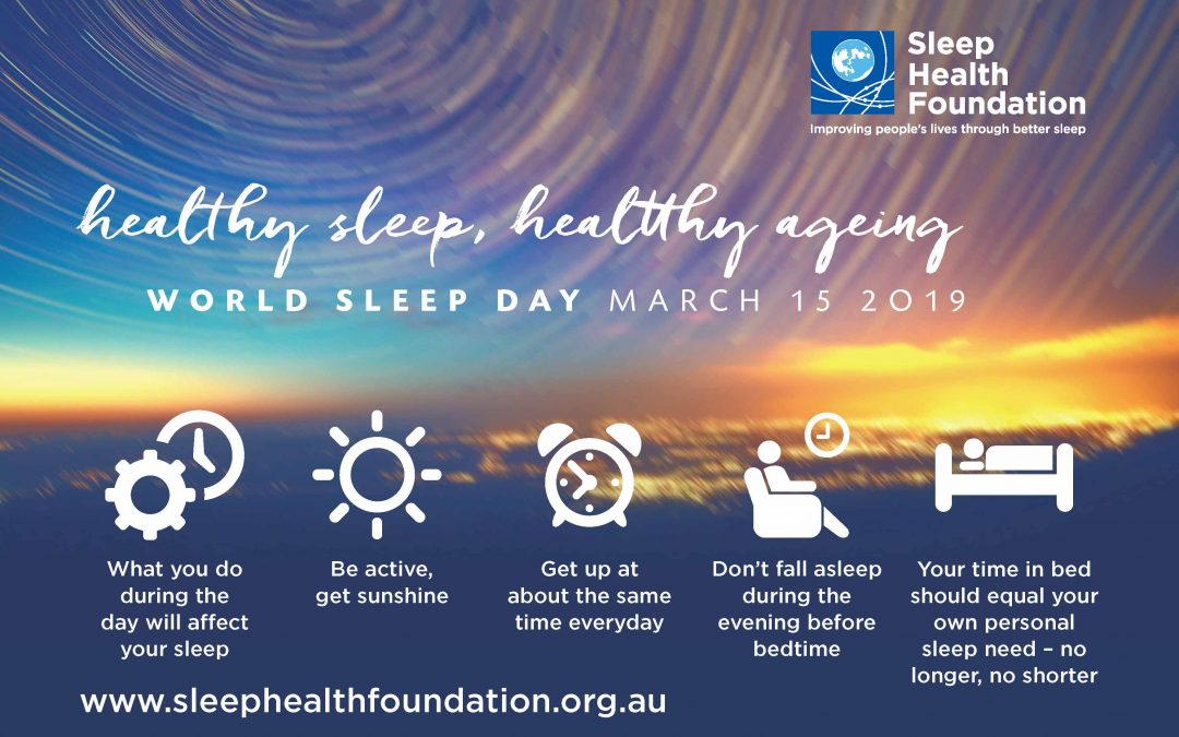 Health Sleep, Healthy Ageing